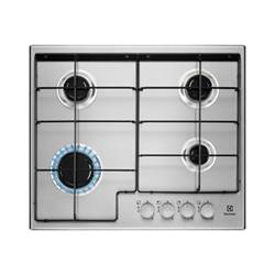 Electrolux Piano cottura EGS6424X Gas 4 Zone cottura