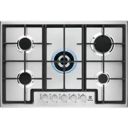 Electrolux Piano cottura EGS7536X Gas 5 Zone cottura