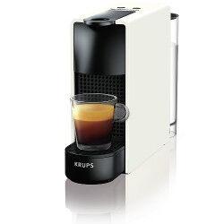 Krups Macchina da caffè Nespresso Essenza Mini XN1101 Bianco