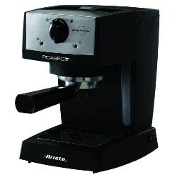 Ariete Macchina da caffè Picasso Cialdissima Nero Caffè macinato