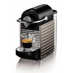 Krups Macchina da caffè Nespresso Pixie XN304TK Titanio Capsule
