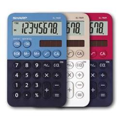 Sharp Calcolatrice El-760r blu sh-el760rbbl