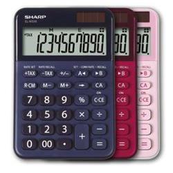 Sharp Calcolatrice El-m335 rossa sh-elm335brd