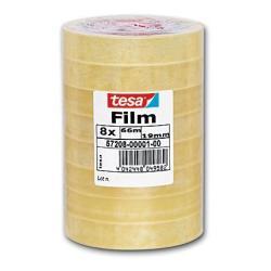 Tesa Nastro film nastro ufficio (pacchetto di 8) 57208-00001-00