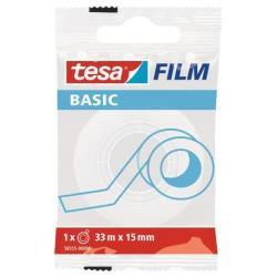 Tesa Nastro adesivo film basic nastro ufficio 58555-00000-00