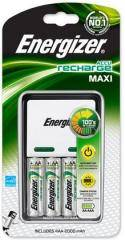 Energizer - Caricabatterie Caricabatterie MaxiCharger+4AA Energizer