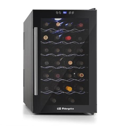 Orbegozo VT 3010 cantina vino Libera installazione Nero 28 bottiglia/bottiglie Cantinetta termoelettrica D