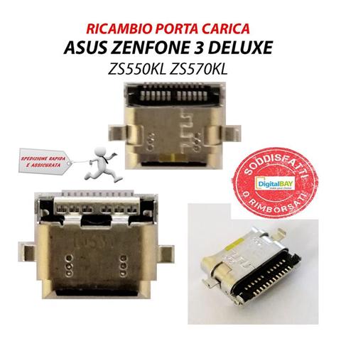 Asus Connettore Ricarica per Asus Zenfone 3 Deluxe ZS550KL ZS570KL Flat Carica Dock