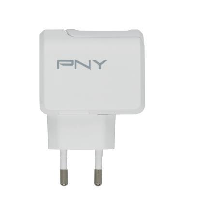 PNY P-AC-TC-WEU01-RB Caricabatterie per dispositivi mobili Interno Bianco