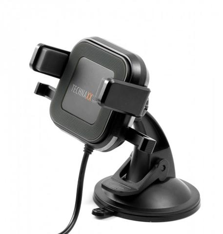 Technaxx 4780 Caricabatterie per dispositivi mobili Auto Nero