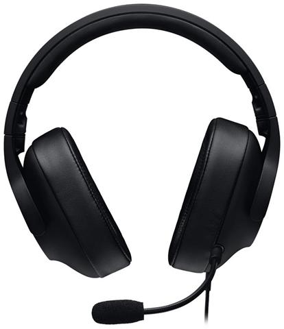 Logitech 981-000721 auricolare Stereofonico Padiglione auricolare Nero