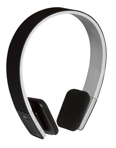 Denver BTH-204BLACK auricolare per telefono cellulare Stereofonico Padiglione auricolare Nero, Bianco