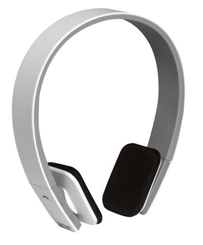 Denver BTH-204WHITE auricolare per telefono cellulare Stereofonico Padiglione auricolare Bianco