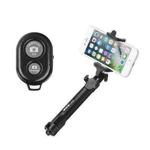 Polo treppiede selfie bluetooth ozzzo nero per ASUS ZenFon 2 Deluxe ZE551ML