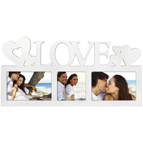 Hama Montreal - Love Bianco Cornice per foto multipla