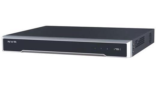 Hikvision Digital Technology DS-7608NI-I2 1U Nero Videoregistratore di rete (NVR)