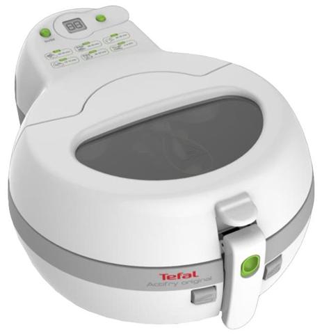 Tefal FZ 7100 friggitrice Singolo Grigio, Bianco 1400 W
