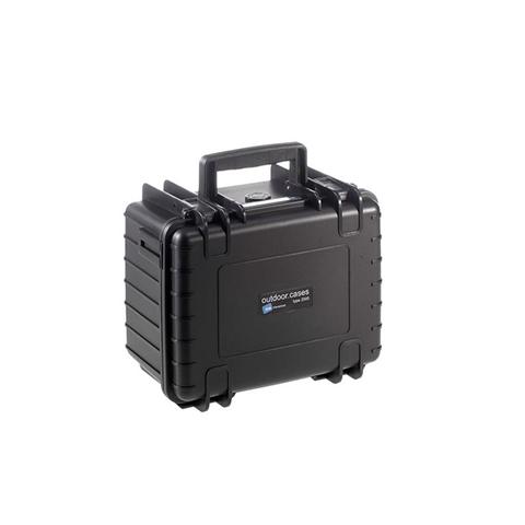 B&W 2000/B/SI custodia per fotocamera Custodia rigida Nero