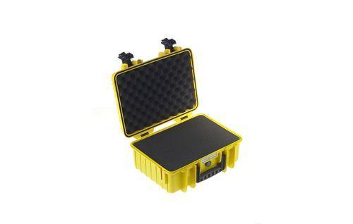 B&W 4000/Y/SI custodia per fotocamera Custodia rigida Giallo