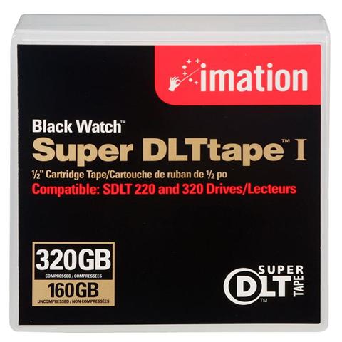 Imation Black Watch Super DLTtape 1 Cartridge 160/320GB SDLT