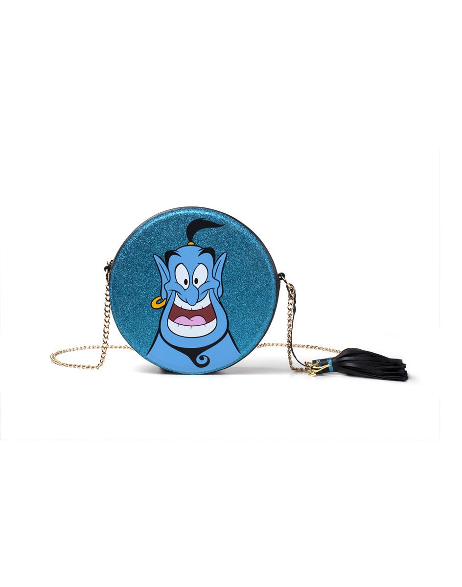 Disney Borsa Disney: Aladdin. Genie Round Glitter Shoulder Blue