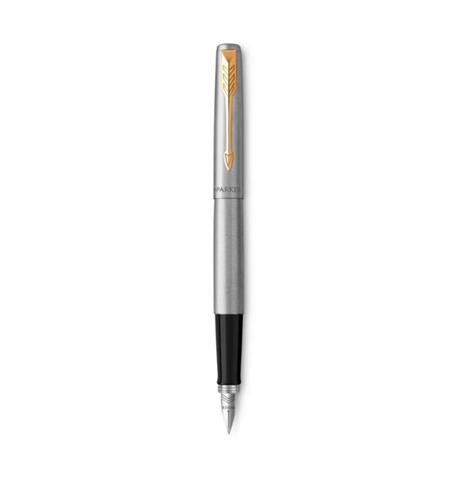 Parker Jotter penna stilografica Nero, Oro, Acciaio inossidabile 1 pezzo(i)