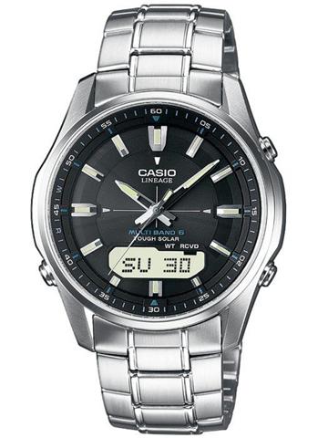 Casio LCW-M100DSE-1AER orologio Quarzo Orologio da polso Maschio Acciaio inossidabile