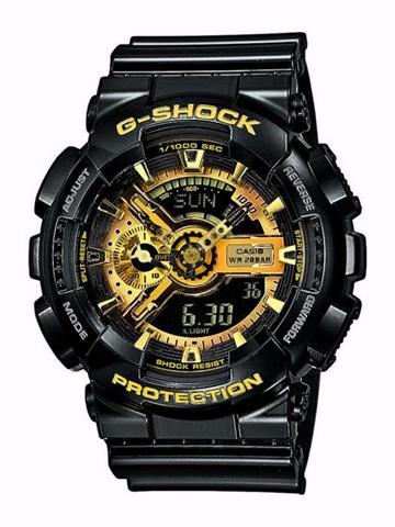 Casio GA-110GB-1AER orologio Quarzo (batteria) Orologio bracciale Maschio Nero