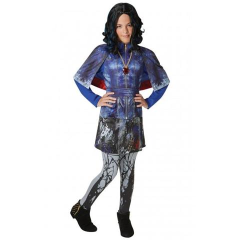 Disney Costume Evie Descendants Originale Disney Medium 5 - 6 Anni 116 cm
