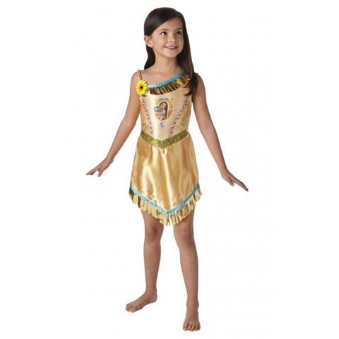 Disney Costume Pocahontas Bambina Originale Disney Medium 5 - 6 Anni 116 cm