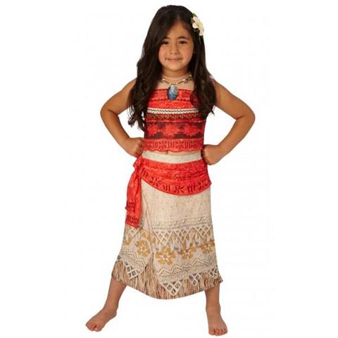 Disney Costume Vaiana Oceania Originale Disney Medium 5 - 6 Anni 116 cm