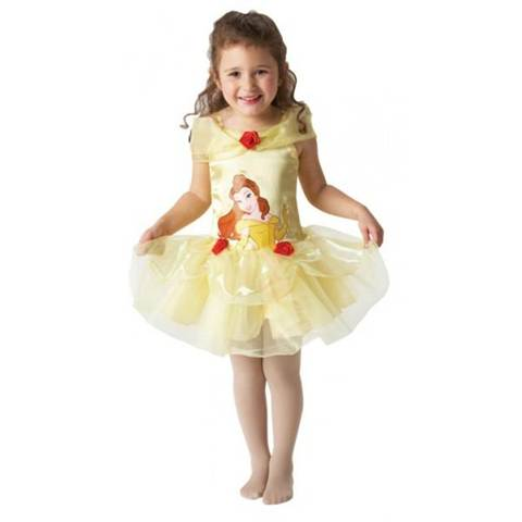 Disney Costume Belle Ballerina Originale Disney Bambina