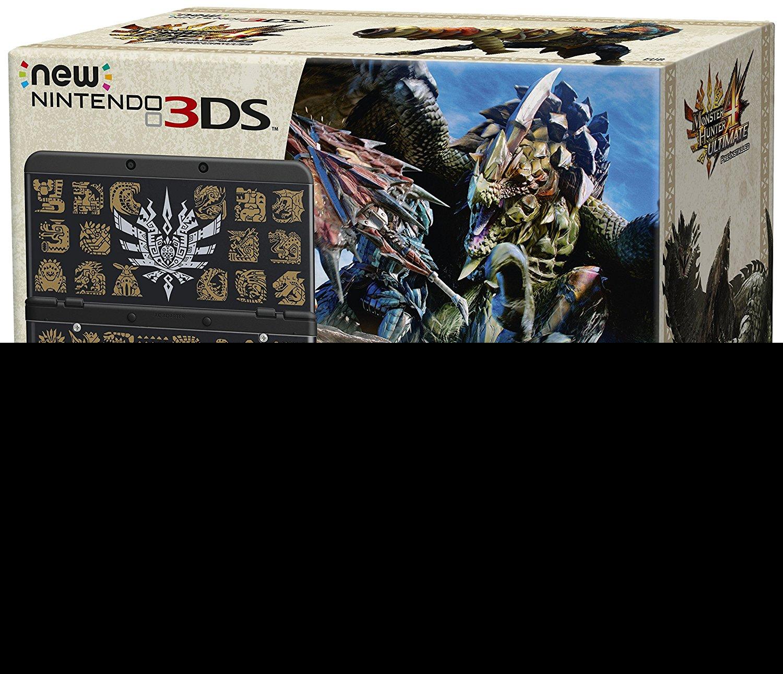 Nintendo New Nintendo 3DS + Monster Hunter 4 Ultimate