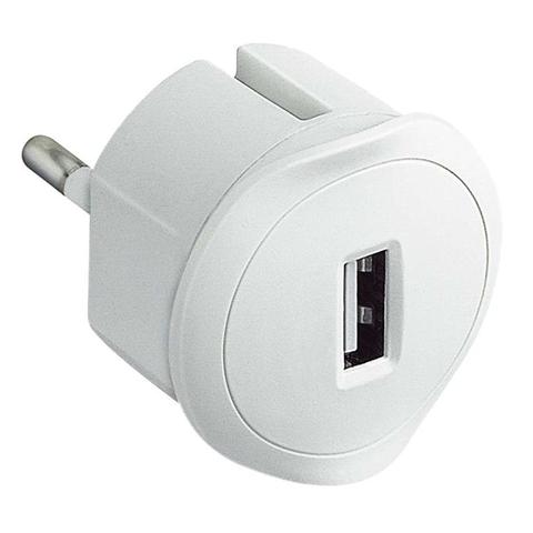 C2G 80834 Caricabatterie per dispositivi mobili Interno Bianco
