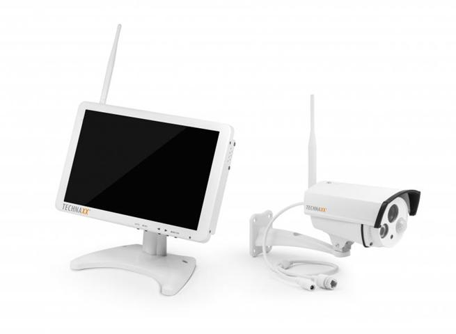 Technaxx Premium TX-29 Con cavo e senza cavo kit di videosorveglianza