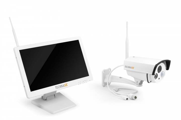 Technaxx Premium TX-30 Con cavo e senza cavo kit di videosorveglianza