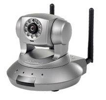 IP Camera Edimax Pan-Tilt1280 x 720 Grigio Scuro