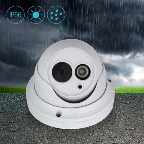 Eminent EM6360 telecamera di sorveglianza Telecamera di sicurezza IP Esterno Cupola Bianco 1280 x 720 Pixel