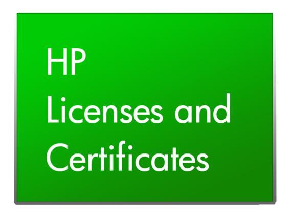 HP Enterprise PCM+ to IMC Basic Software Platform Upgrade with 50-node E-LTU Aggiornamento