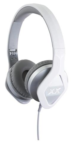 JVC HA-SR100X-S Padiglione auricolare Stereofonico Cablato Grigio, Bianco auricolare per telefono cellulare