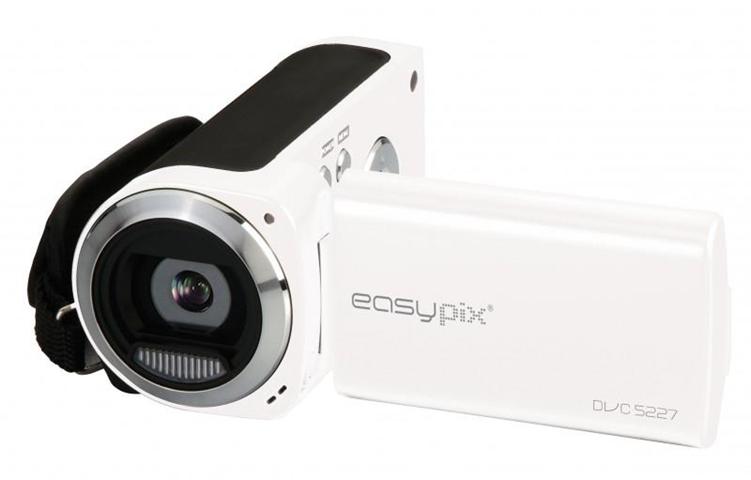 Easypix DVC5227 Videocamera palmare 5MP CMOS Bianco