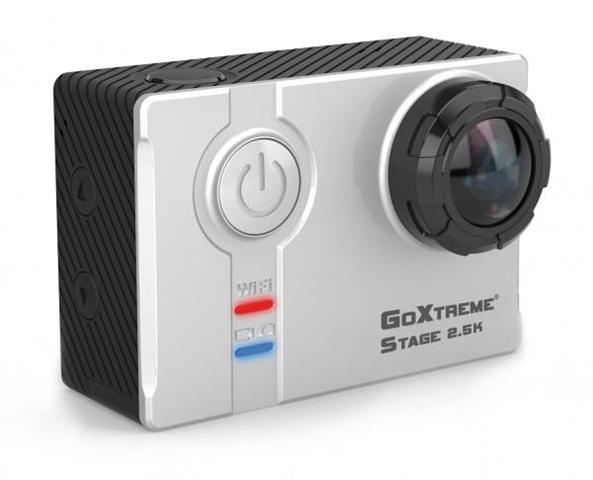 Easypix GoXtreme Stage 2.5K Ultra HD Stereo Cam 4MP Wi-Fi 74g fotocamera per sport d'azione