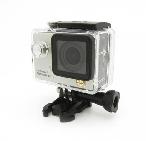 Easypix GoXtreme Vision 12MP 4K Ultra HD Wi-Fi fotocamera per sport d'azione