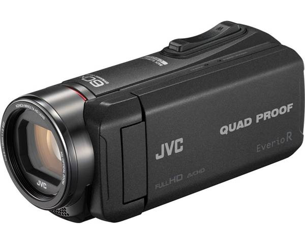 JVC GZ-R445BEU 2,5 MP CMOS Videocamera palmare Nero Full HD