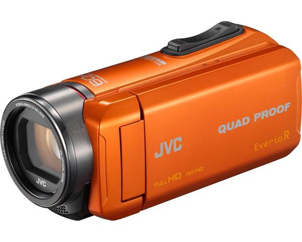 JVC GZ-R445DEU 2,5 MP CMOS Videocamera palmare Arancione Full HD