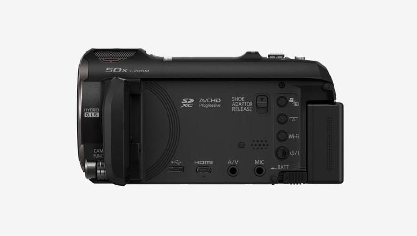 Panasonic HC-V770EP-K Videocamera palmare 12.76MP MOS BSI Full HD Nero videocamera