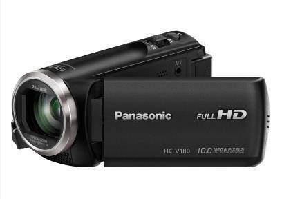 Panasonic HC-V180EC-K Videocamera palmare 2.51MP MOS BSI Full HD Nero videocamera