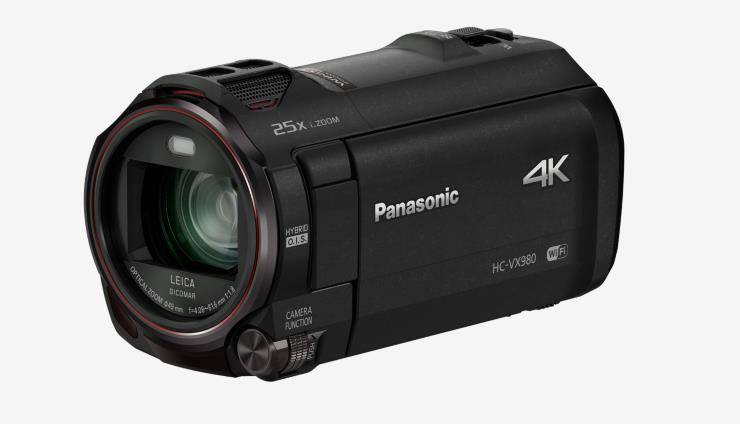 Panasonic HC-WX980M 4K HD Camcorder