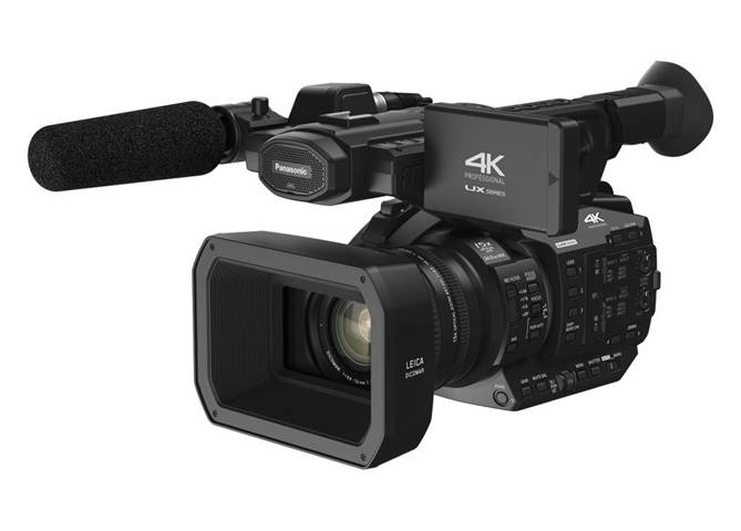 Panasonic AG-UX90 Videocamera palmare 18MP MOS 4K Ultra HD Nero videocamera