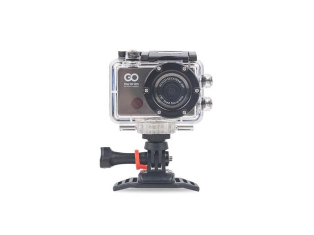 GOCLEVER DVR EXTREME WIFI 8MP Full HD Wi-Fi 62g fotocamera per sport d'azione